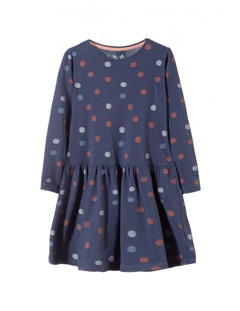 Sukienka dzianinowa dziewczęca 3K3226