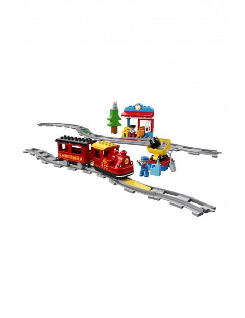 Klocki LEGO® DUPLO® 10874 Pociąg parowy 10874 - 30 elementów wiek 2+