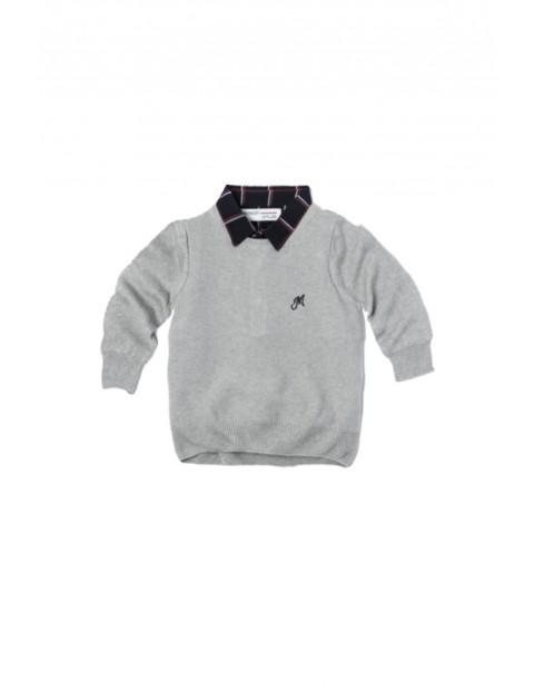 Sweter chłopięcy 1F33AT