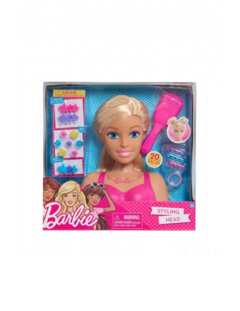 Barbie głowa lalka do czesania stylizacji blondynka