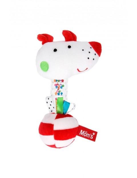 Grzechotka Momsik-zabawka dla niemowlaka