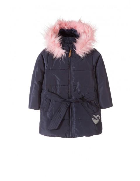 Płaszczyk zimowy dla dziewczynki 3A3504