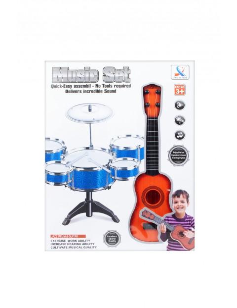 Instrumenty muzyczne - Perkusja i gitara Mega Creative 3+