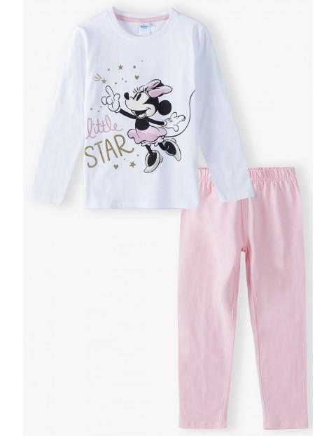Piżama dziewczęca bawełniana Minnie
