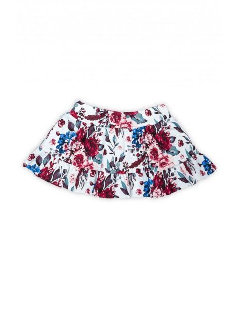 Bawełniana spódnica  z kwiecistym wzorkiem