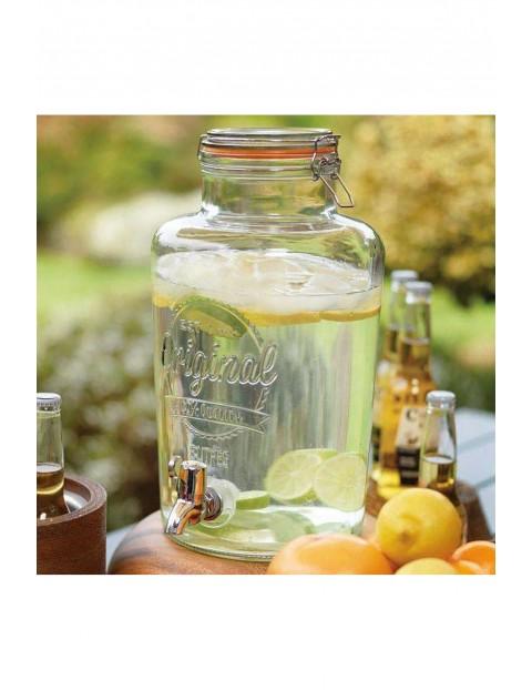 Słój z kranikiem do napojów - 8 litrów
