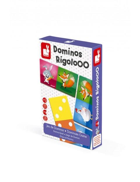 Domino Zwierzęta Rigolooo Janod