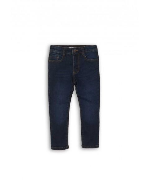 Spodnie niemowlęce jeansowe - granatowe