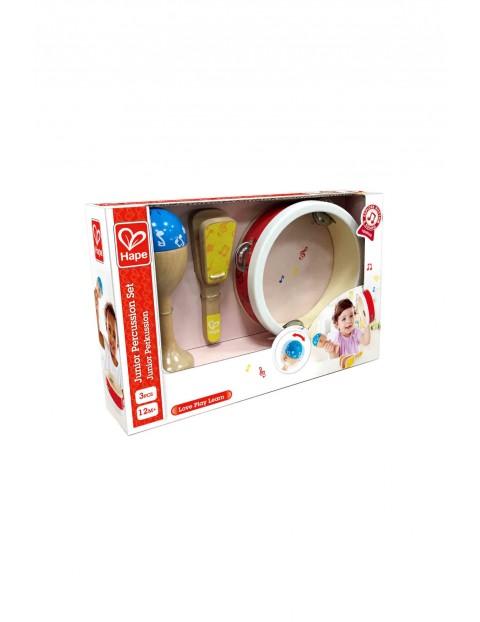 Zestaw perkusji dla dzieci- zabawki muzyczne 12msc+