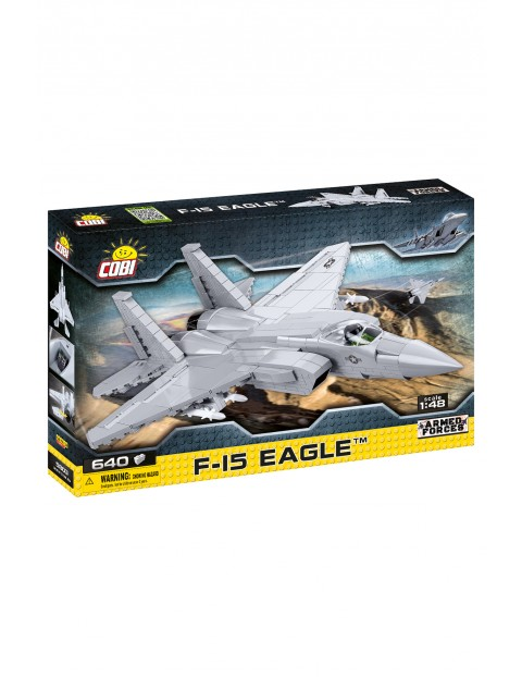Klocki COBI 5803 F -15 EAGLE ARMORED FORCES - 590 el wiek 7+