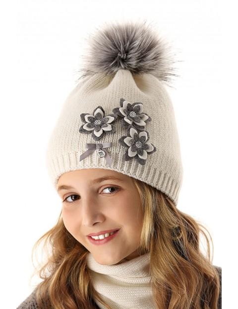 Czapka zimowa dla dziewczynki 4X35AL