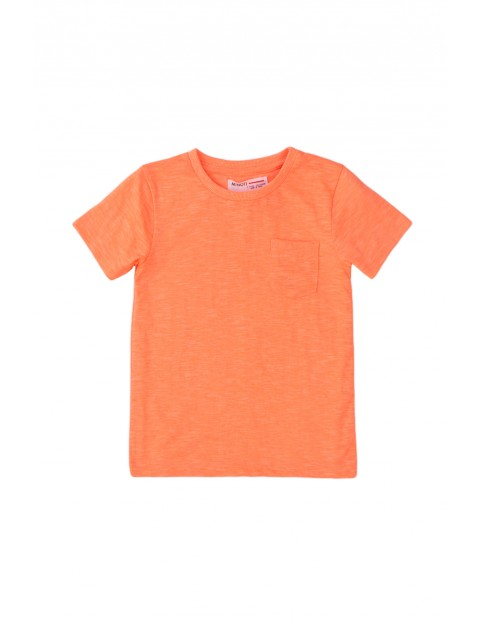 T-shirt niemowlęcy w kolorze pomarańczowym