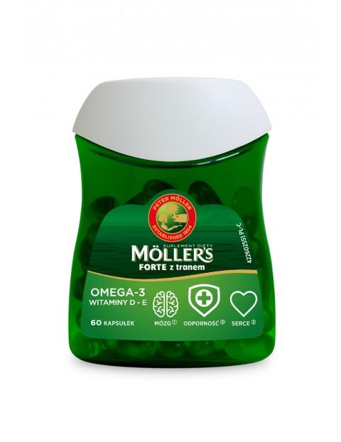 Möller's Forte z tranem 60 kapsułek