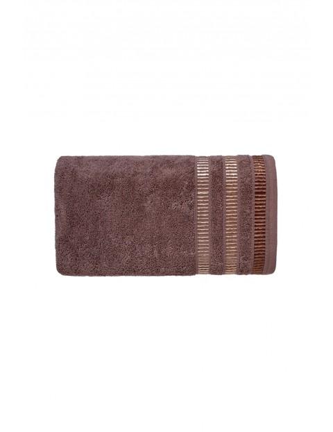 Ręcznik SAGITTA brązowy 50X90cm