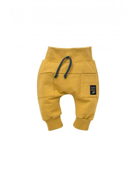 Spodnie pumpy Secret Forest curry- 100% bawełna
