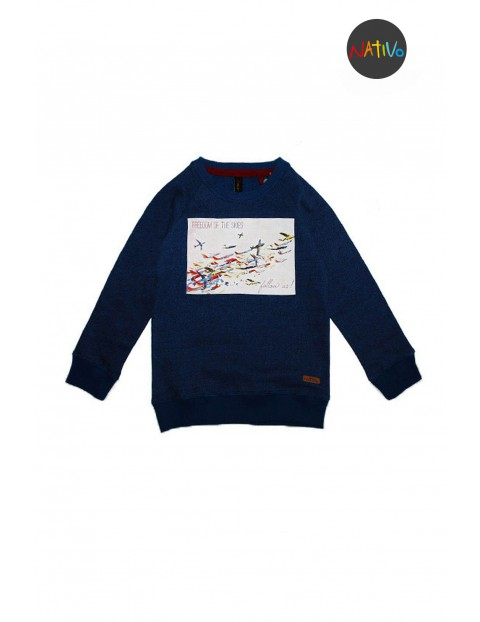 Bluza dresowa chłopięca 1F3020