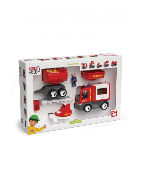 Wóż strażacki- zabawka dla dzieci 3+