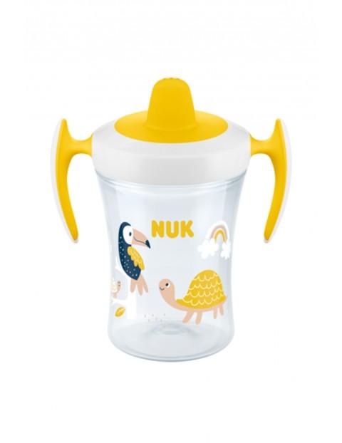 NUK Kubek niekapek EVOLUTION TRAINER CUP - żółty 230ml wiek 6mcy