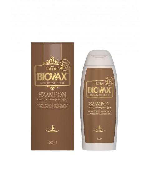 BIOVAX ARGAN, MAKADAMIA, KOKOS szampon każdy rodzaju włosów