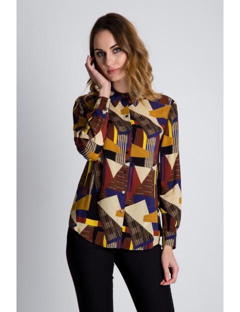 Oryginalna koszula  damska we wzory