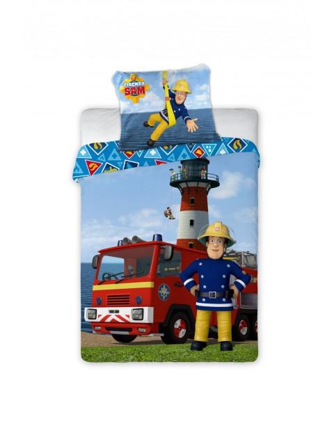 Komplet pościeli dla dziecka Strażak Sam-100x135 + 40x60 cm