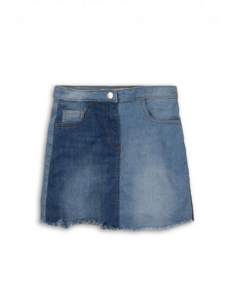 Spódnica jeansowa dla dziewczynki- niebieska
