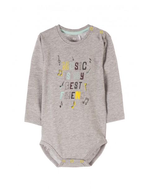 Body niemowlęce z długim rękawem 5T3512