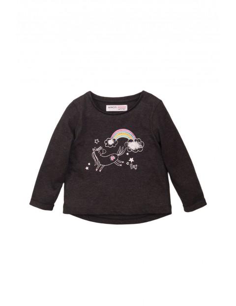 Bluzka niemowlęca z jednorożcem