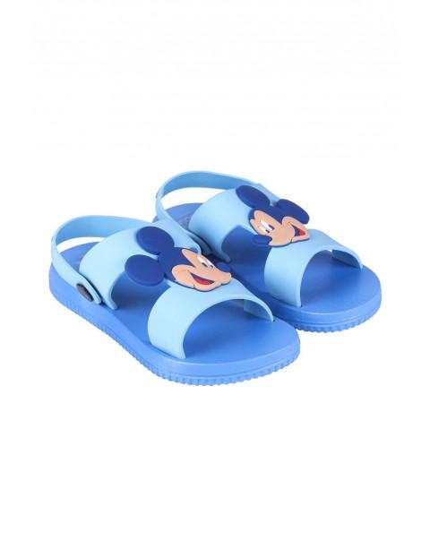 Sandały chłopięce Myszka Mickey - niebieskie