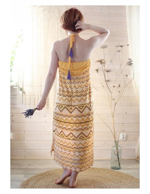Słoneczna sukienka na lato