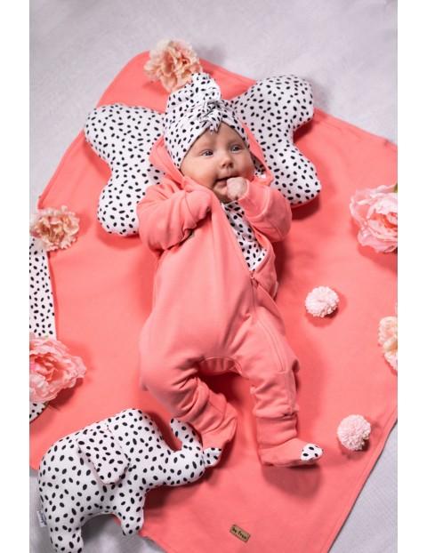 Butki dresowe niemowlęce koralowe