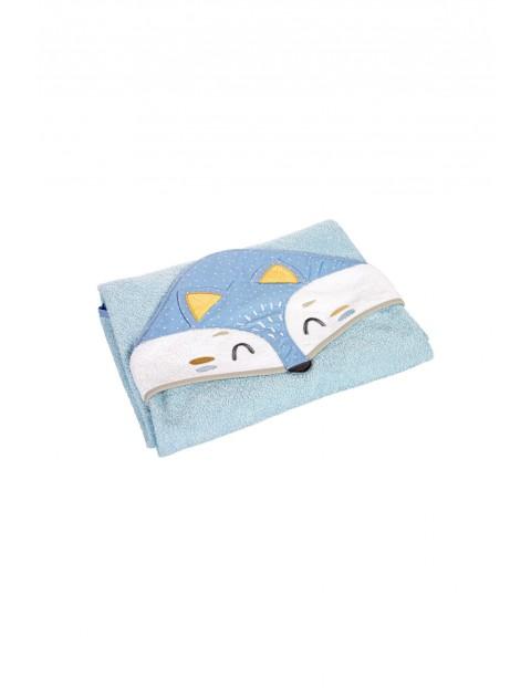 Okrycie kąpielowe dla niemowląt Lisek 100x100cm
