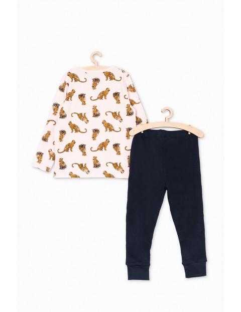 Piżama dzianinowa w tygrysy