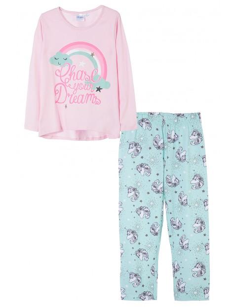 Pidżama dziewczęca 3W35C2