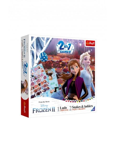 Gra- 2w1 Chińczyk/Węże i drabiny Frozen 2 wiek 4+