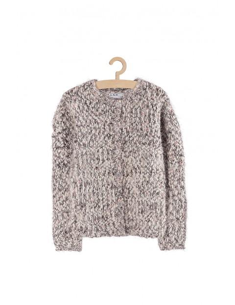 Sweter dla dziewczynki- zapinany na guziki