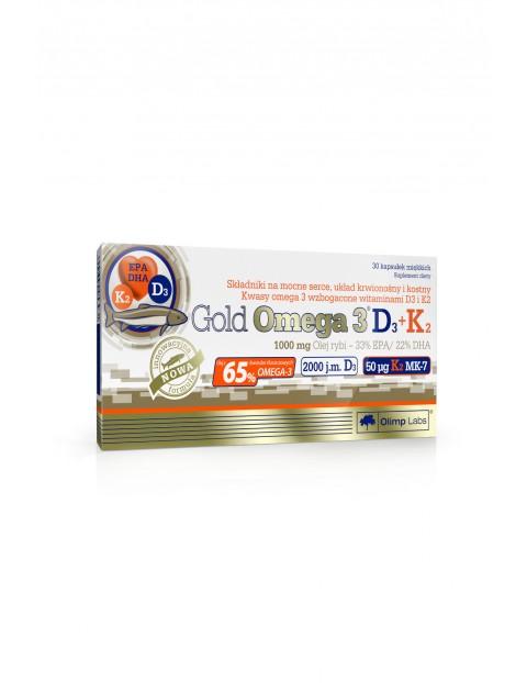 Gold Omega 3 D3+K2 30 kapsułek TOP- 30 kapsułek