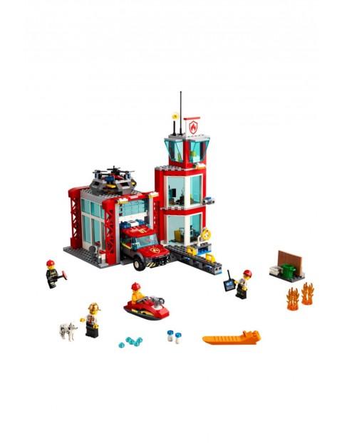 Lego City 60215 - Remiza strażacka - 509 elementów wiek 5+
