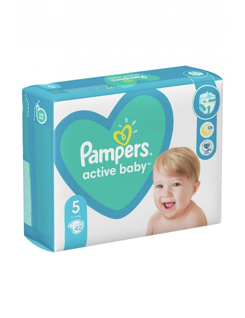 Pampers Active Baby, rozmiar5, 42pieluszek, 11-16kg