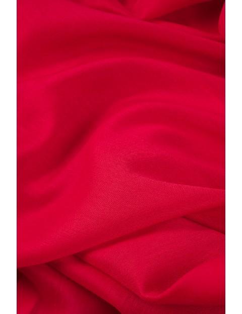 Elegancka apaszka damska- czerwona