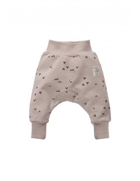 Spodnie niemowlęce dresowe 5M35AT