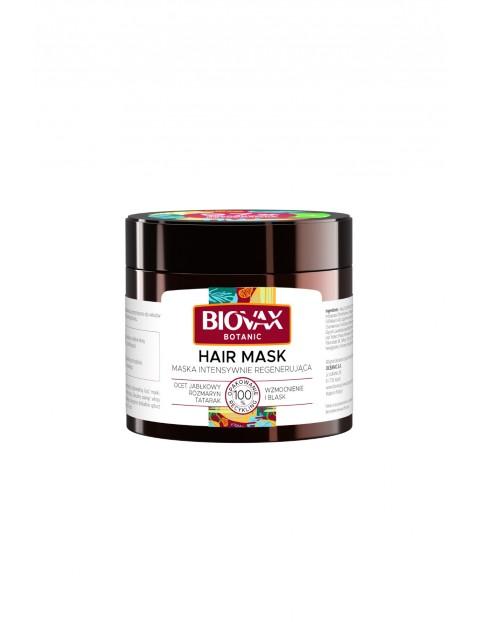 Biovax Botanic Maska do włosów intensywnie regenerująca z octem