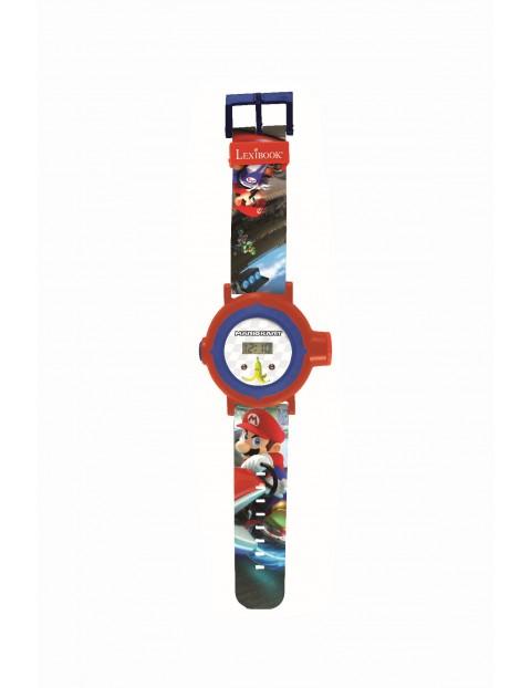 Cyfrowy zegarek projekcyjny Mario Kart z 20 obrazami do wyświetlenia
