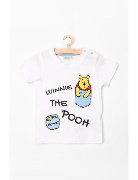 T-Shirt niemowlęcy Kubuś Puchatek biały