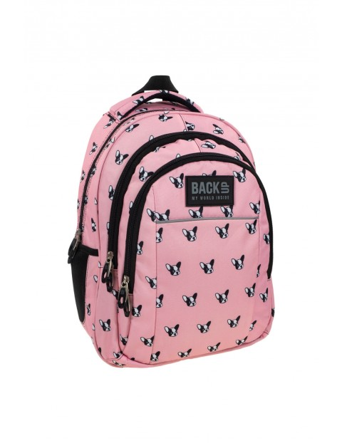 Plecak dziewczęcy do szkoły 4Y35A7