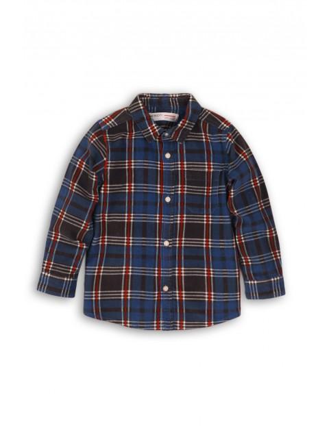 Koszula chłopięca flanelowa w kratę