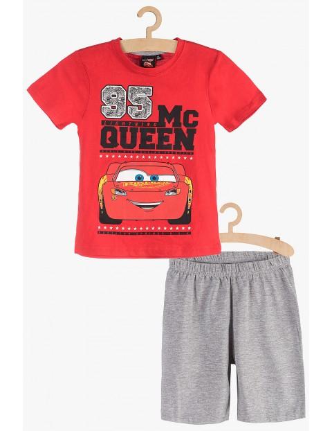 Pidżama chłopięca czerwono-szara Zygzak McQueen