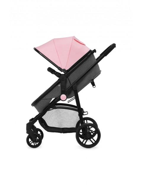 Kinderkraft wózek wielofunkcyjny 3w1 JULI różowy