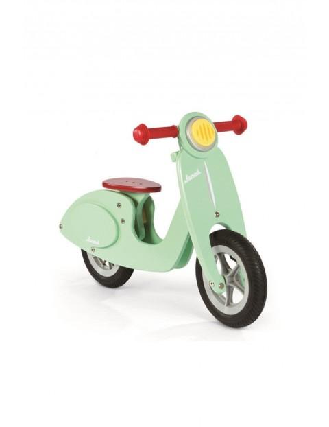 Rowerek biegowy miętowy Scooter Janod