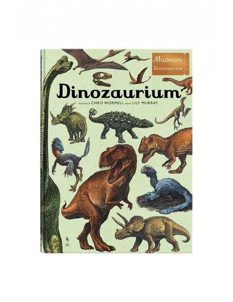"""Książka """"Dinozaurium"""""""